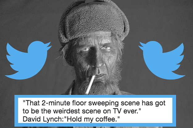 """Twin Peaks"" Was So Extra Crazy And Beautiful Last Night That Fans Lost Their Damn Minds"