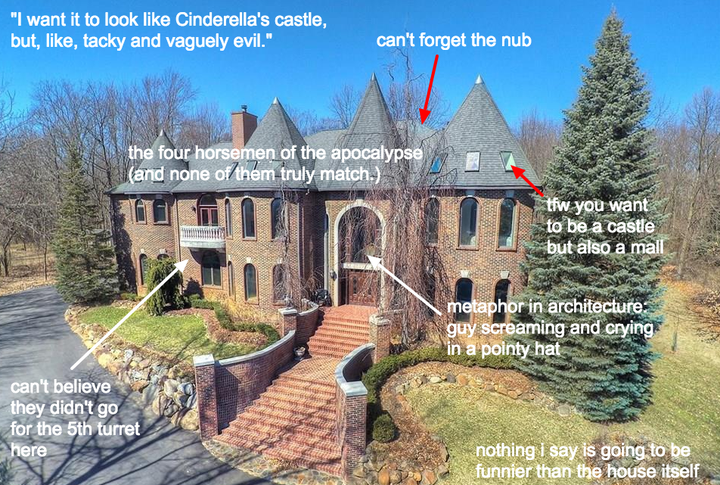 The United States is a great big country, and a whole bunch of it is filled with great big houses. They're called McMansions, and since 2016, the foremost chronicler of those houses has been the blog McMansion Hell.