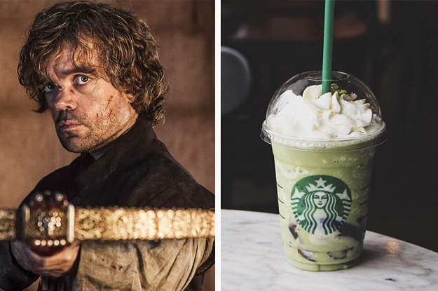 Build A Frappuccino And We'll Tell You Your Best Quality