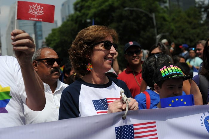 Roberta Jacobson, embajadora de EU en México.