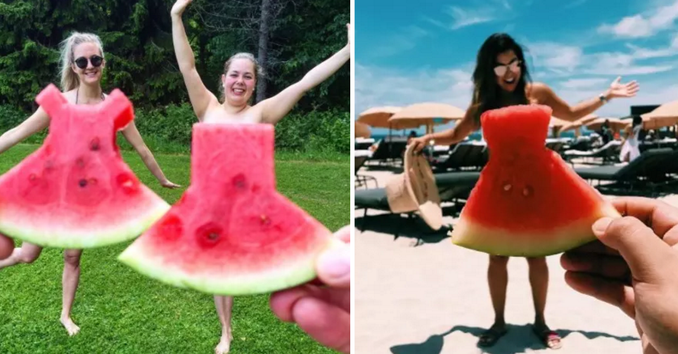 Watermelon dresses are the best thing to happen on instagram this summer solutioingenieria Gallery