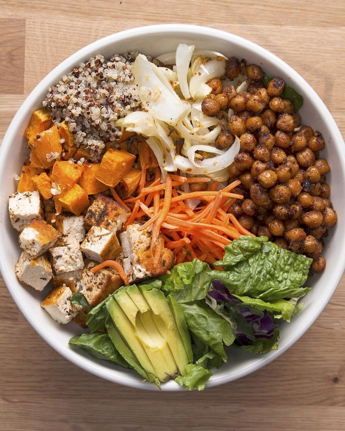 Protein Packed Buddha Bowl