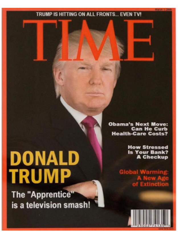 This Fake Time Magazine Cover Was Found Hanging Inside Trump's Golf Resorts