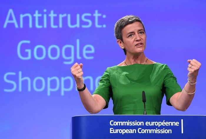 European Commissioner for Competition Margrethe Vestager.