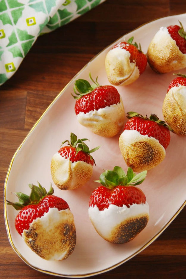 Campfire Strawberries