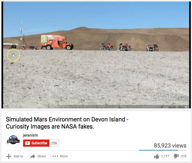 Devon Island is the largest uninhabited island on Earth, located in the Arctic circle in Canada's far north. NASA uses a crater on the island to simulate Mars-like conditions, and it's where the space agency has run field tests for its rovers.
