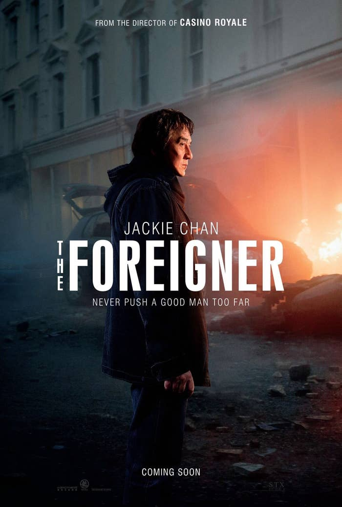"Why People Are Upset Over Jackie Chan's Role In ""The Foreigner"""