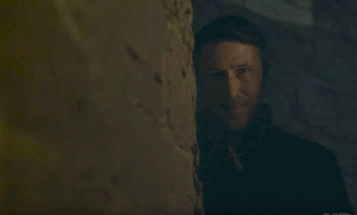 That's more like it, eh? Ever since he convinced Lysa to murder Jon Arryn, shit has been going down in Westeros. Wars have raged, kings have come and gone, the continent has been torn apart, and it's pretty much all Littlefinger's fault. What a dick.How he's escaped retribution up to now is anyone's guess – however, Bran's return to Winterfell could just be the turning point. Ned Stark's only remaining son has access to, seemingly, all information ever thanks to the World Weirwood Web. As soon as the remaining Starks work out that their parents and brothers would still be alive if it wasn't for Petyr, surely it won't be long before Arya adds him to her list.Valar Morghulis.Likelihood: 7/10 ???????How: Arya opens his throat – Frey-style – with Baelish's own Valyrian steel dagger, which caused so much trouble way back in Season 1 after he told Catelyn it was Tyrion's.