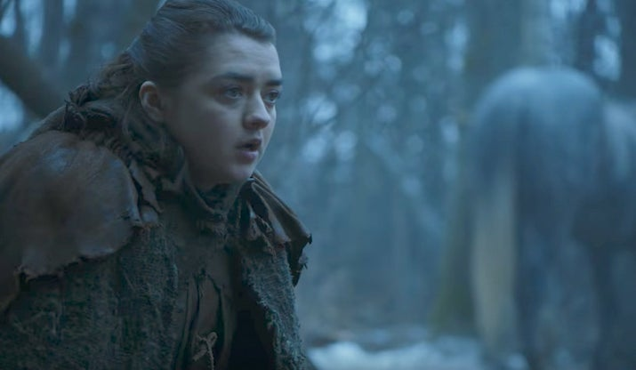 """Before you throw things at me, please allow me to explain myself.From the trailers it looks like there is a VERY strong chance that the two remaining MIA Starks – Bran and Arya – will finally return home to Winterfell, and honestly we're already a little moist-eyed at the very idea.The problem is, as Isaac Newton nearly said, """"Every action has an equal and opposite reaction that rips your heart out through your eyes until you can no longer understand the concept of hope."""" In other words, good things don't go unpunished.Death-proof Jon is wearing Valyrian steel plot armour and Bran needs to continue his role as Lord of Exposition, so if they want to break us with some long-overdue Stark-killing (Rickon doesn't count; it was his own stupid fault for running in a straight line) then we're left with Sansa or Arya. My money's on the assassin, rather than the one who will probably stay inside Winterfell for the entire season.Likelihood: 3/10 💀💀💀How: Honestly I think perhaps this season is a little too soon for Arya's demise, but if it were to happen...being killed by an ally when masquerading as someone else would be suitably devastating."""