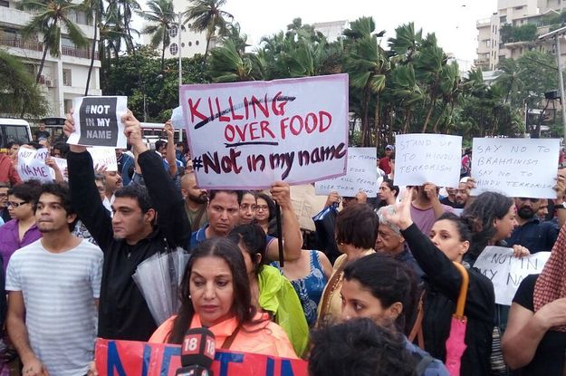 People From All Across India Marched Today Against A Series Of Anti-Muslim Killings