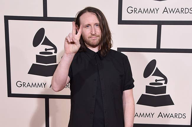 LOS ANGELES, CA - FEBRUARY 15: Recording artist Mike Einziger attends The 58th GRAMMY Awards at Staples Center on February 15, 2016 in Los Angeles, California. (Photo by John Shearer/WireImage)