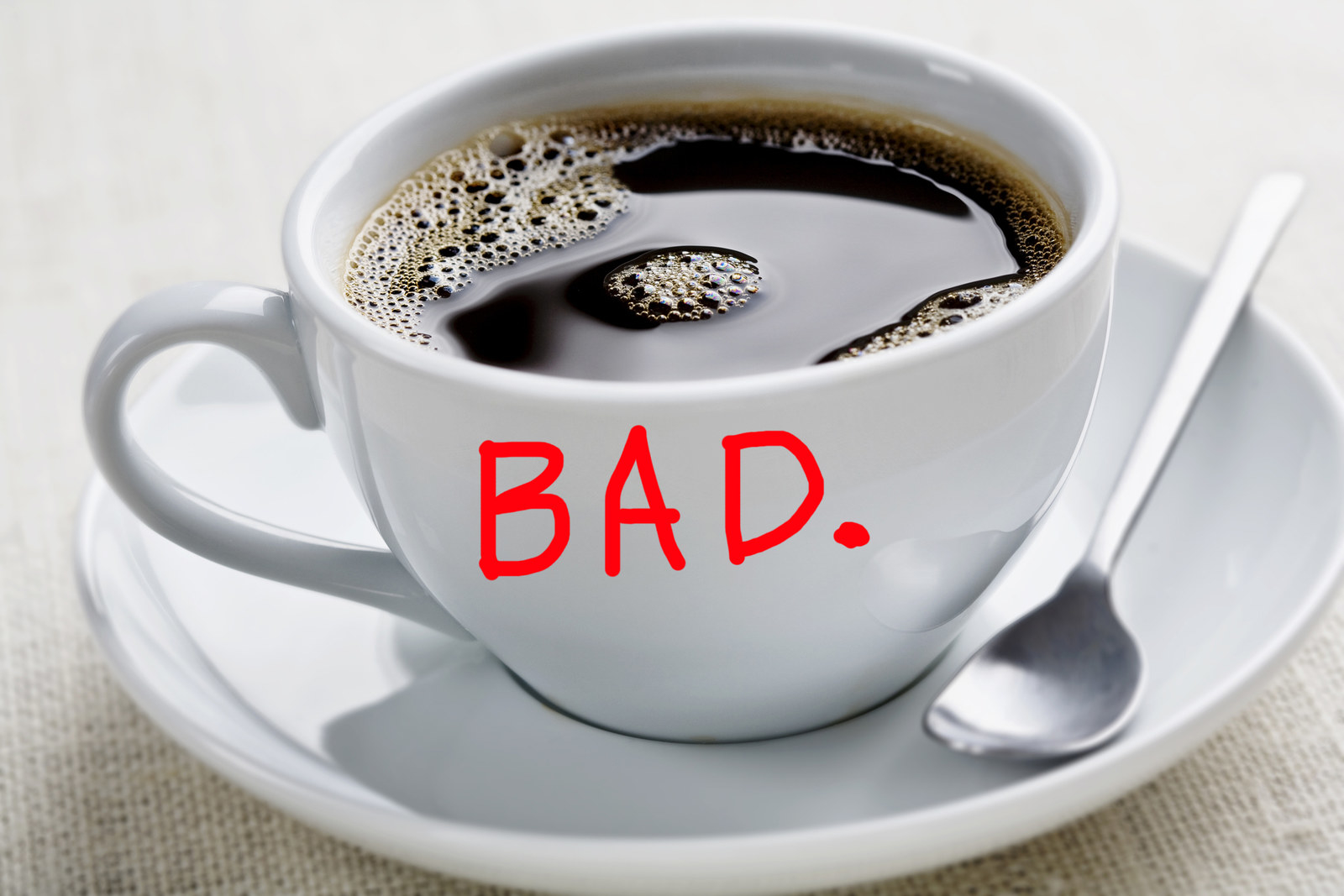 is straight black coffee good for you
