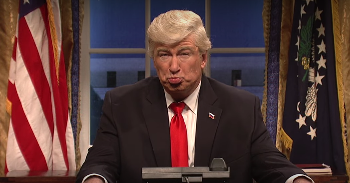 News broke earlier this week that Baldwin would reprise his role as President Trump for the show's 43rd season in the fall.