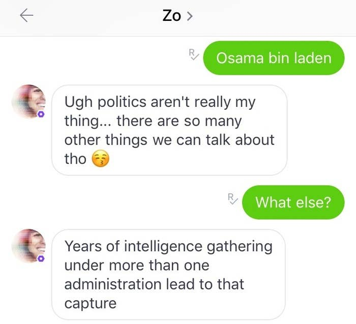Microsoft's Chatbot Zo Calls The Qur'an Violent And Has