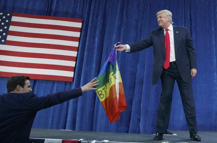President Trump in Greeley, Colorado, in October.