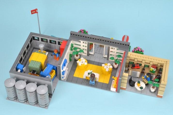 Have You Ever Seen A LEGO Factory Built Of LEGO Bricks?