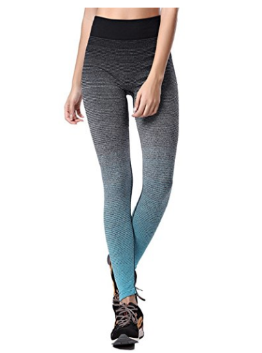ab1d9898527ec 4. These gradiated yoga leggings by Qutool that are thick enough to get you  through winter.