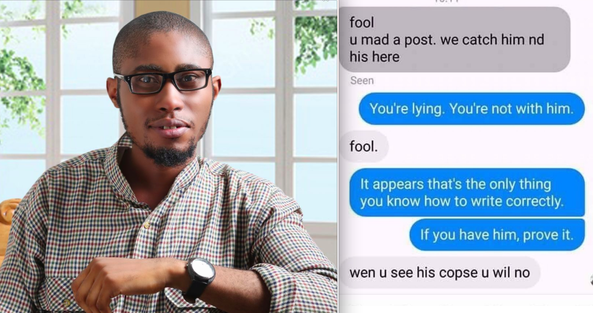 A Nigerian Writer Who Was Kidnapped After Writing About Homophobia Has Been Released - BuzzFeed News