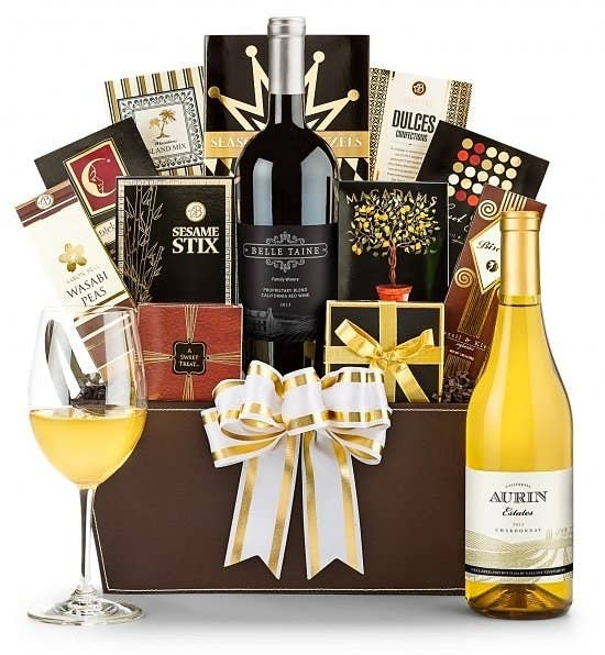 20 of the best places to order gift baskets online gift tree has elegant baskets that theyll actually want to keep using stuffed with gourmet food wine coffeetea and spa treats solutioingenieria Image collections