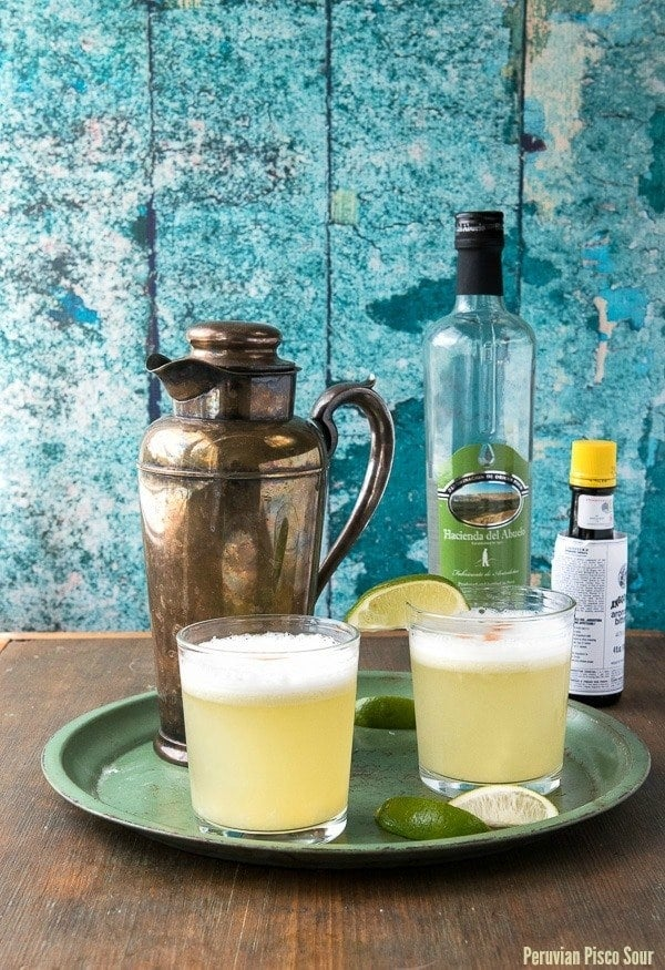 What is it? A tart, sweet cocktail based on Pisco and egg whites.Chile and Peru have been intense rivals since the War of the Pacific in the 1800s and both sides fiercely claim ownership of this drink. Recipe here.