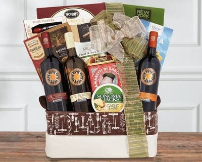 Wine Country Gift Baskets Has An Impressive Selection Of In Addition To Nonalcoholic Options Like Popcorn Nuts Fruit Etc