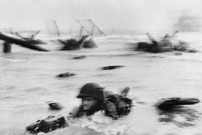 D-Day landing on Omaha Beach, Normandy, France, June 6, 1944