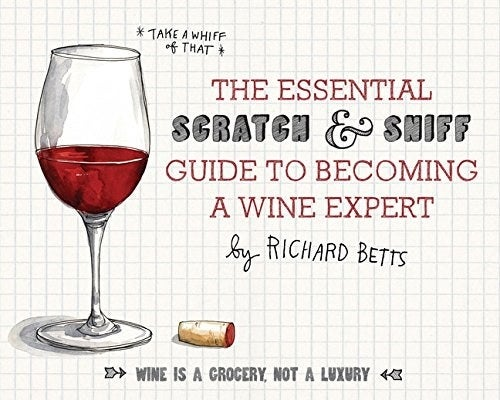 """Sommelier Richard Betts introduces readers to the elements of wine so they can differentiate between types with ease. Plus, it's illustrated!Promising review: """"This book is a delight! It has lovely illustrations, the scents are cool, and it does a good job of presenting basic facts to help readers understand the wine jargon you hear all the time but never understand. The best part, however, is the foldout 'map of the wine world.' It's separates wines out into categories like type of fruit, oakiness, earthiness, etc. If you know one wine you really like, you can use this map to find others you might like and learn some of the terminology of why you like that wine, for help in picking out similar wines. Great resource!"""" --PeggyGet it from Amazon for $13.82."""