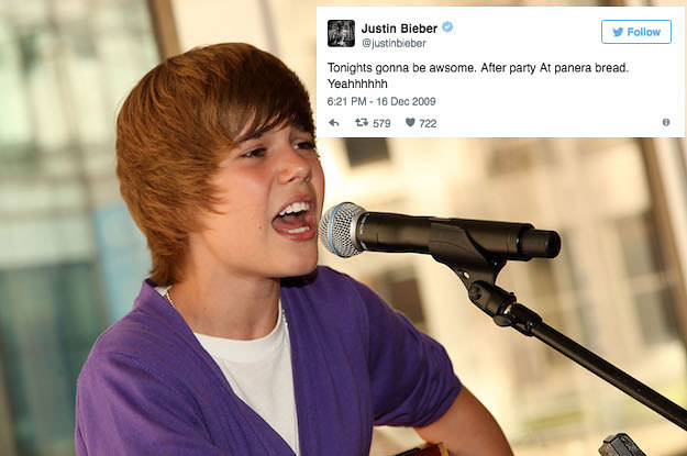 29 Old Justin Bieber Tweets That Belong In A Fucking Museum
