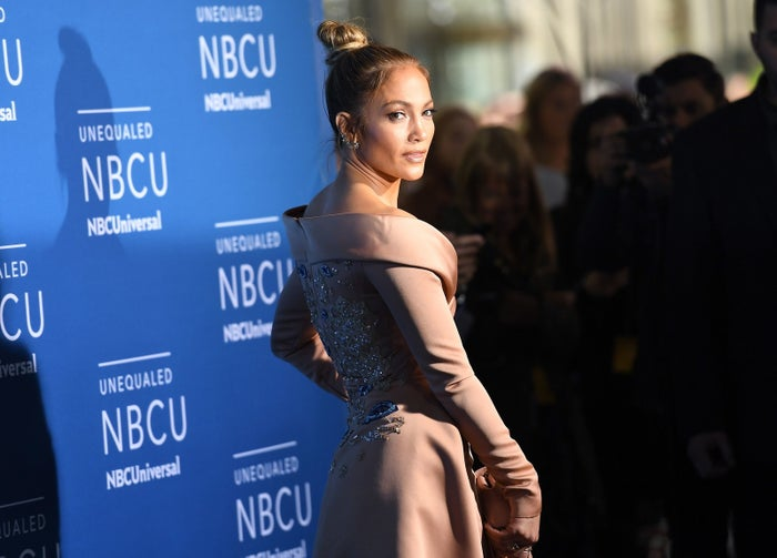 Jennifer Lopez attends the NBCUniversal 2017 Upfront on May 15, 2017 in New York City.