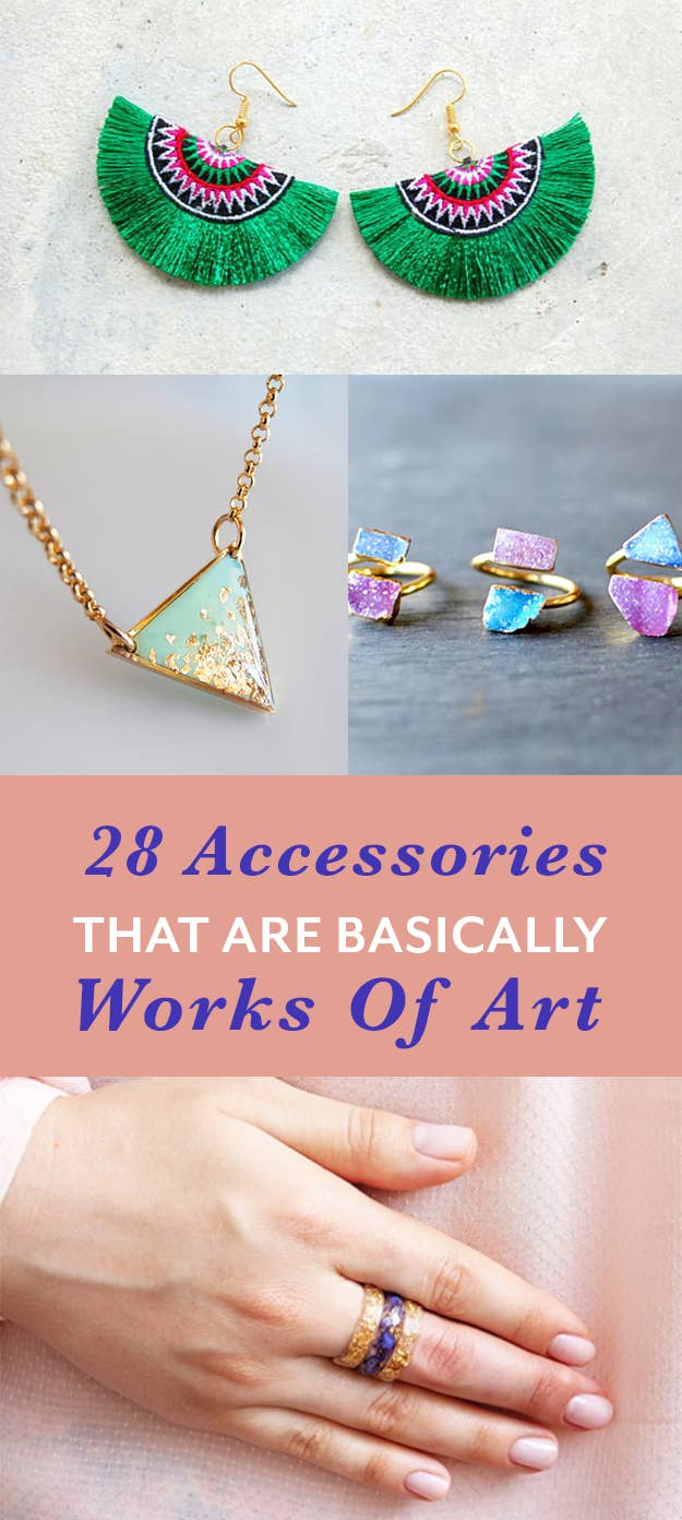 28 Gorgeous Accessories That Are Actual Works Of Art
