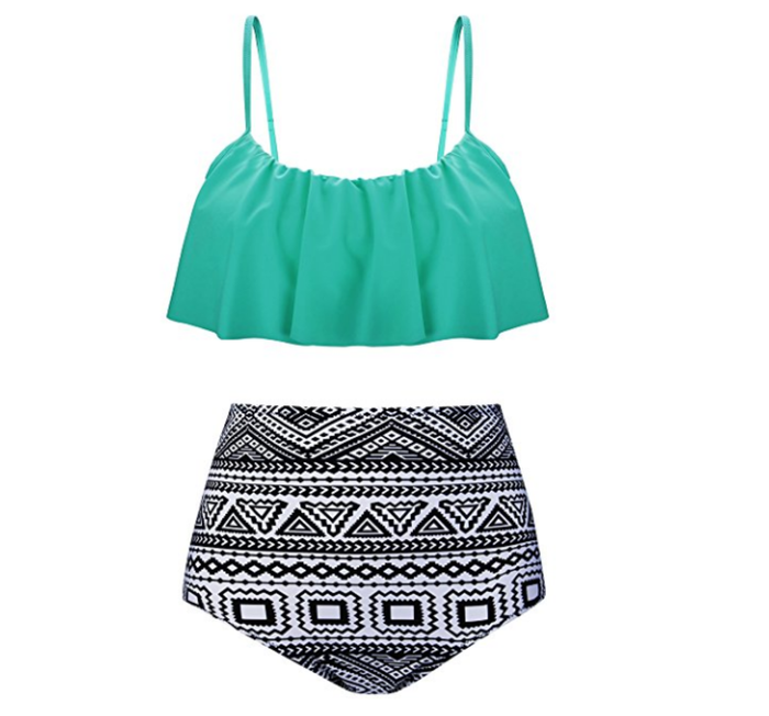Get the bathing suit set here.