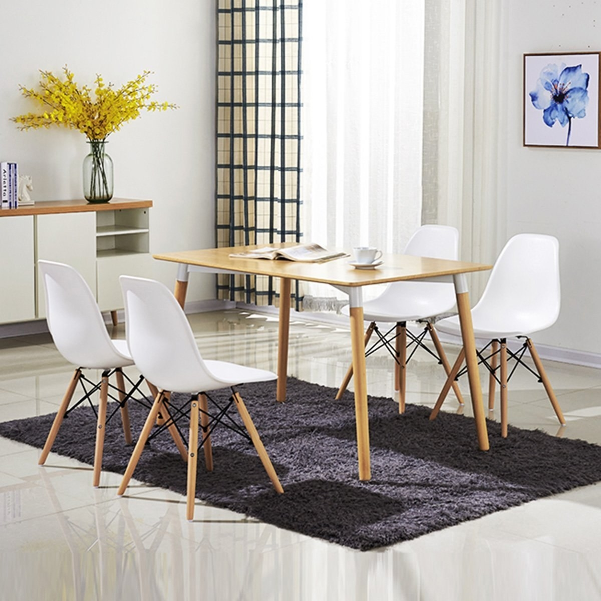 A Sleek Set Of Chairs That Could Pretty Much Only Cost Less If You Sat On  The Floor.