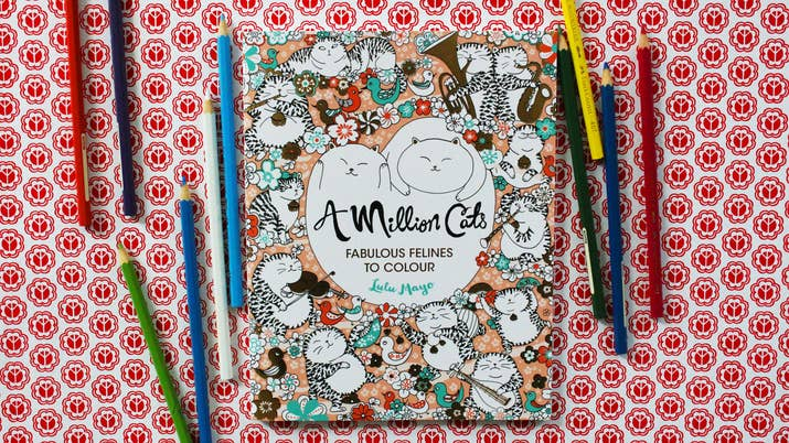 5 Coloring Books For Your Self Care Needs