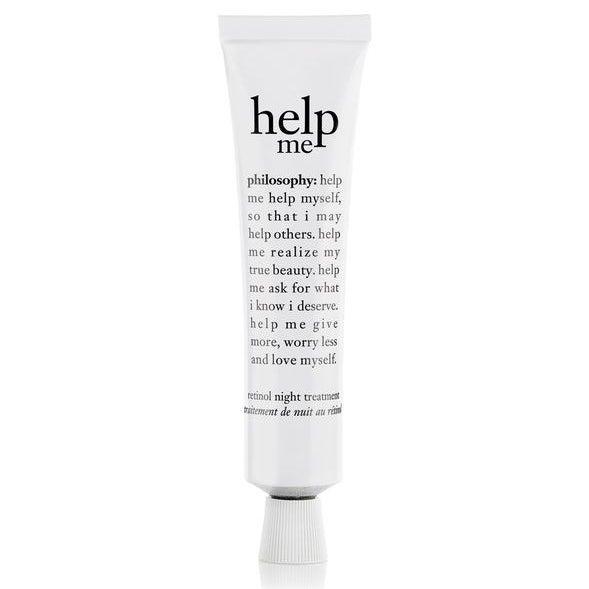 help me retinol night treatment reviews