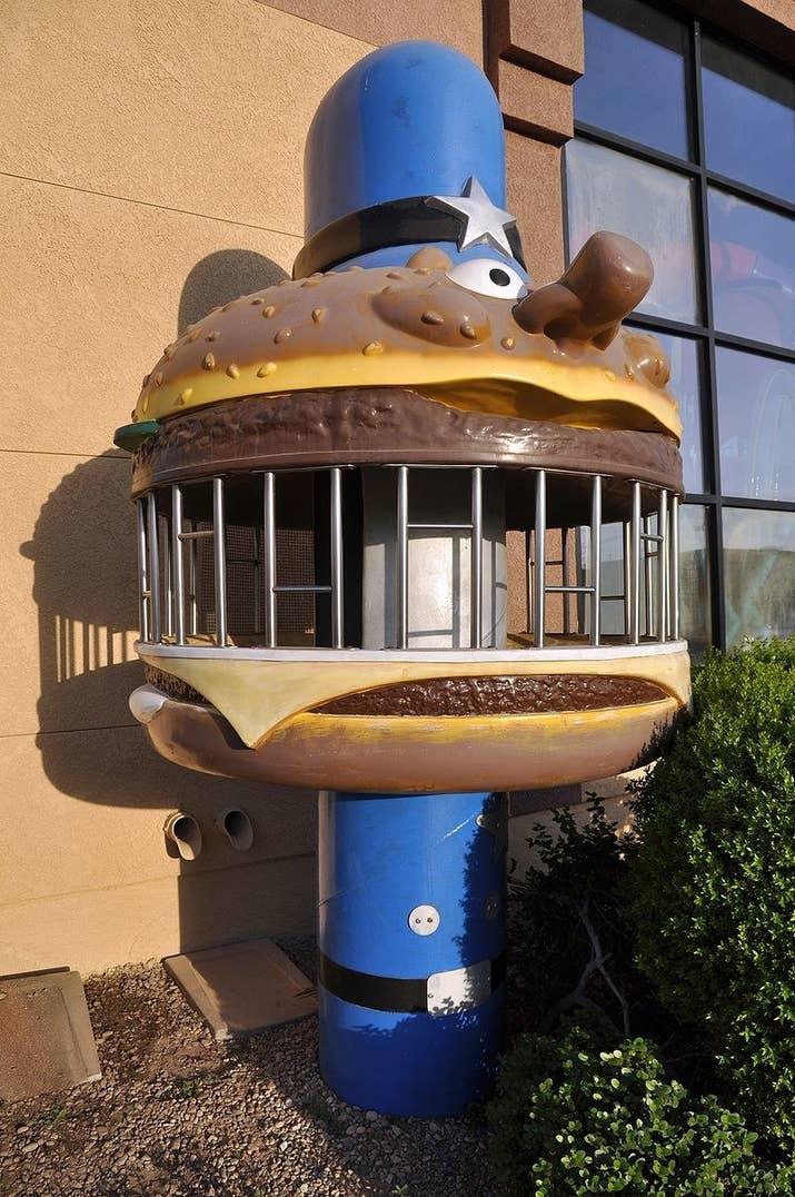 McDonald's burger jail