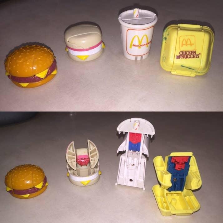 McDonald's transformers