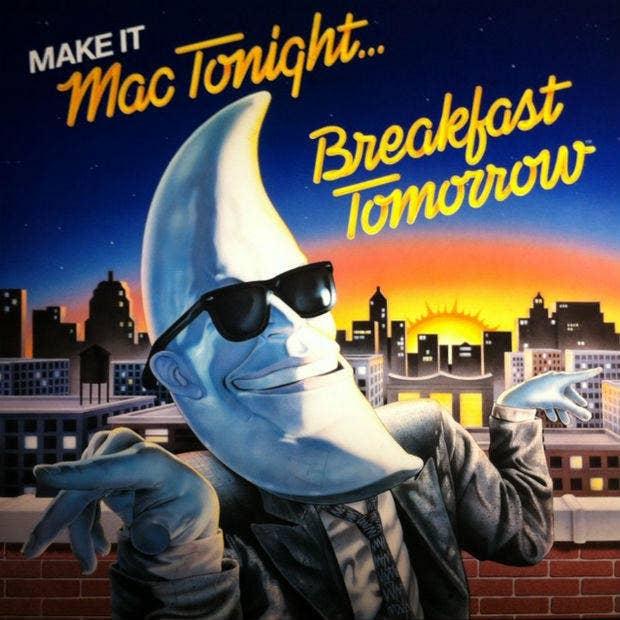 McDonald's mac tonight