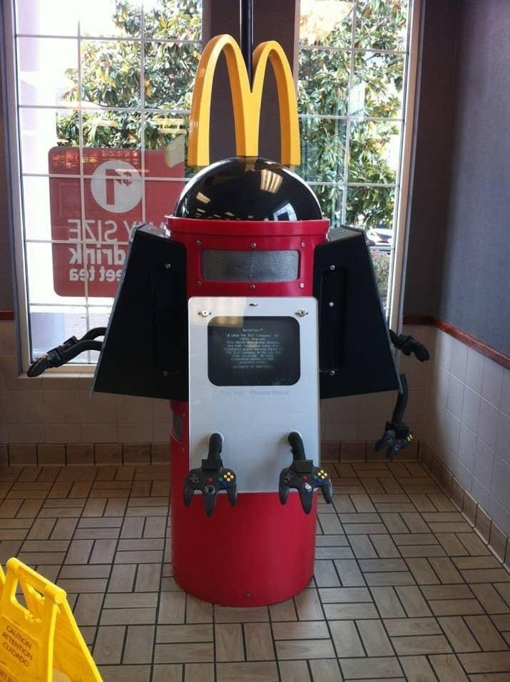 McDonald's nintendo