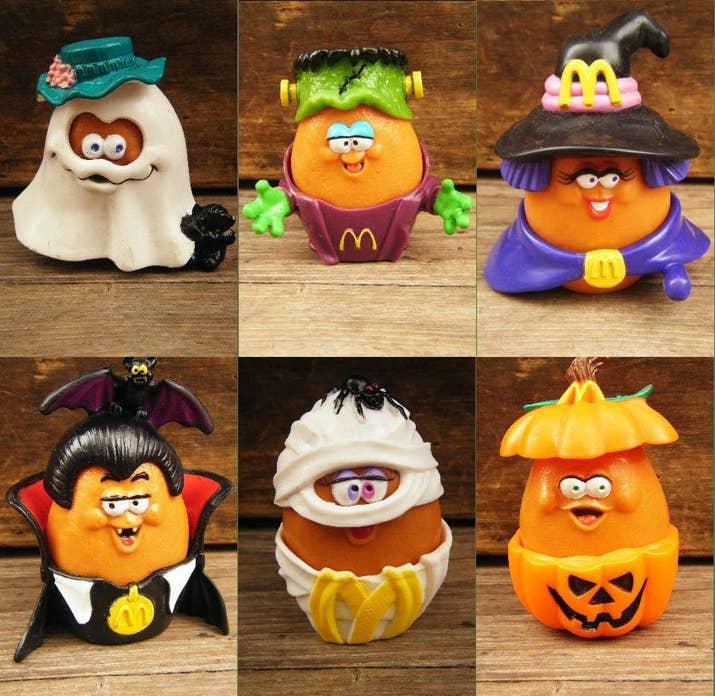 McDonald's halloween toys