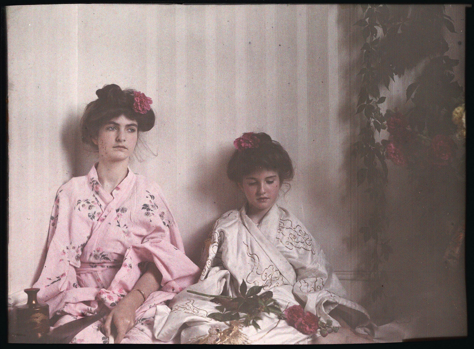 Autochrome by Etheldreda Janet Laing, 1908.