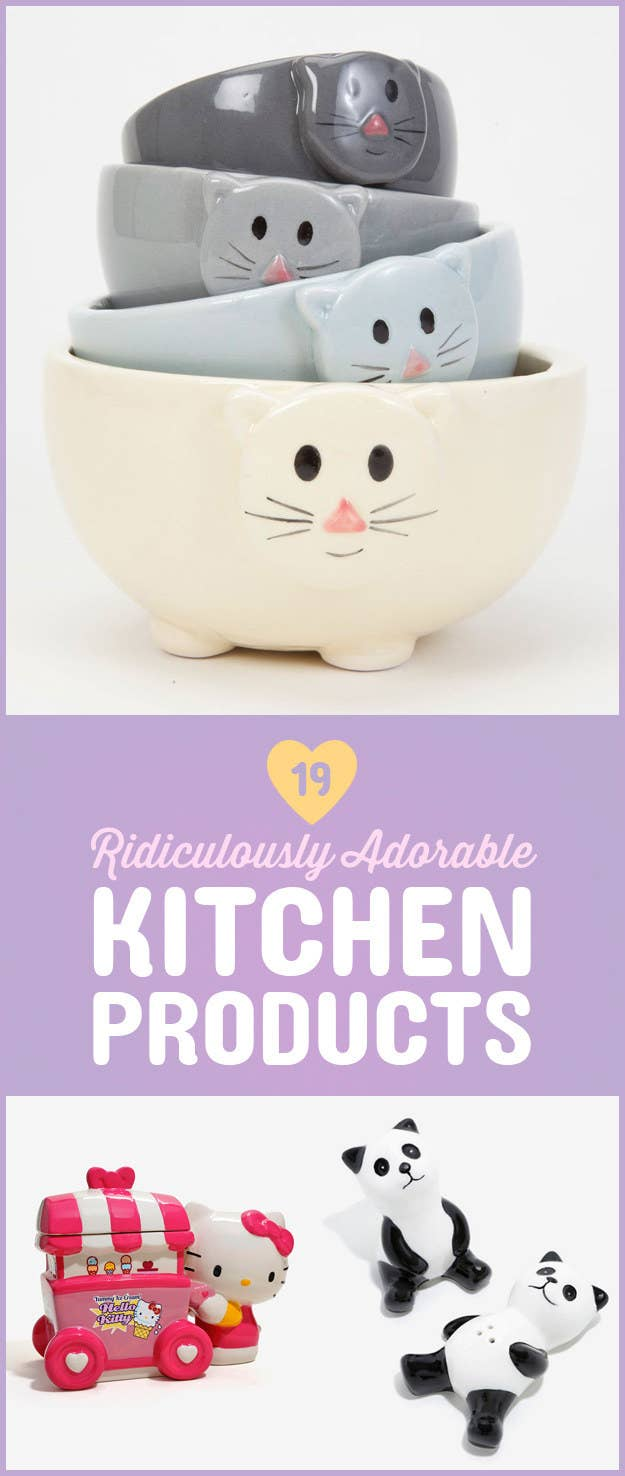 19 Ridiculously Cute Kitchen Products You Need ASAP