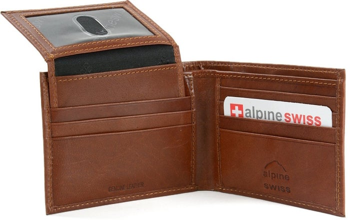 Raise your hand if your dad has been using the same wallet since like 1876. Get it from Amazon for $14.99 (available in seven colors).