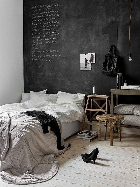 21 ideas para decorar tu cuarto de forma f cil lind sima - Decorar paredes facil ...