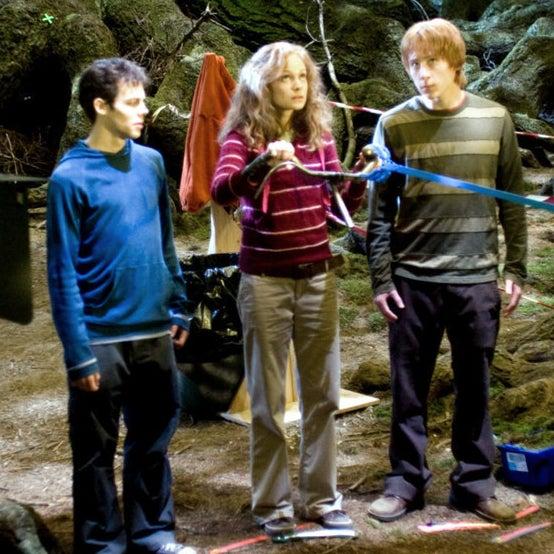 """22 fotos detrás de escenas de """"Harry Potter"""" que probablemente no has visto antes - Leerlo Todo"""