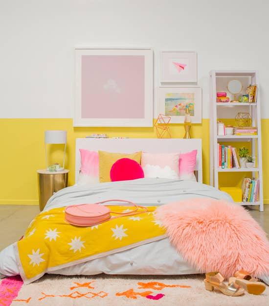 21 ideas para decorar tu cuarto de forma f cil lind sima - Decoracion juvenil paredes ...