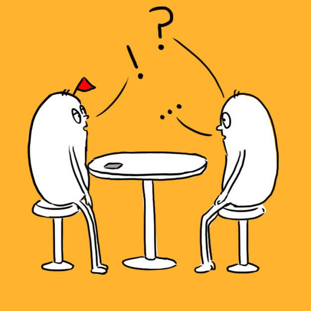 Você não foi nesse encontro para entrevistá-lo para uma vaga, vocês foram nesse encontro para conversar sobre os dois.