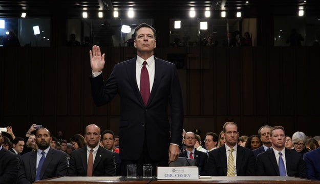 It's Thursday, June 8, 2017, which will forever be known in history as the day former FBI Director James Comey testified about President Trump in the ongoing investigation into Russian interference in the US election.