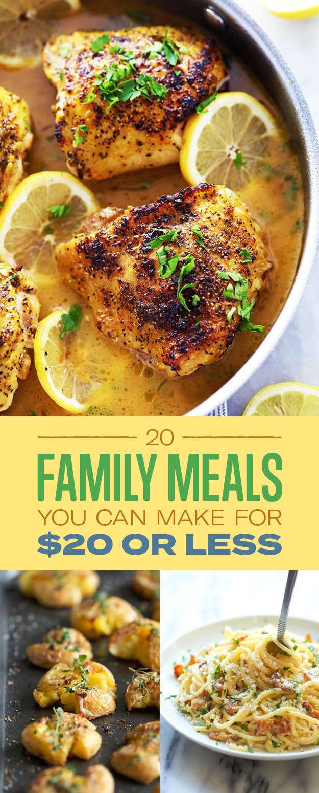 Here S How To Feed The Whole Family For Under 20
