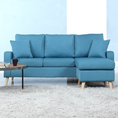 A Sectional Sofa That Has A Reversible Chaise.