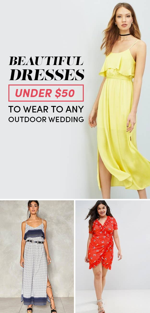 29 Gorgeous And Cheap Dresses To Wear An Outdoor Wedding